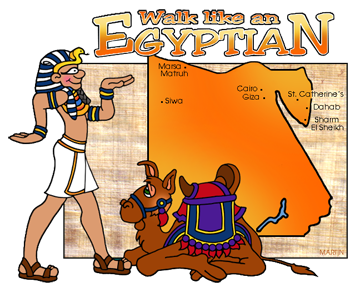 Egyptian Map